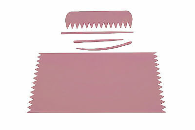 PINK Weaving Loom Board Frame 95 x 160mm with Comb & Needles, Phone Sock. S7384