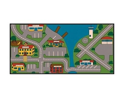 Learning Carpets All Over Town (Custom) LC 172 Play Carpets LC172 Kids Rug NEW