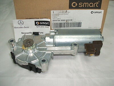 Genuine Smart Fortwo (450) Cabrio E-Drive Folding Roof Motor Q0004794V008 NEW
