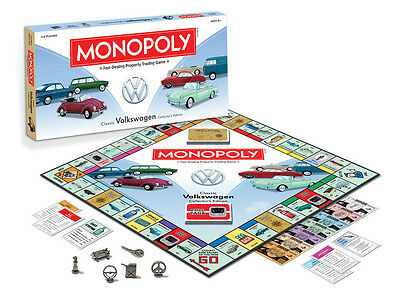 BRAND NEW Monopoly Classic Volkswagen Collector's Edition