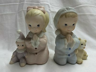 HOMCO-Boy and Girl Praying