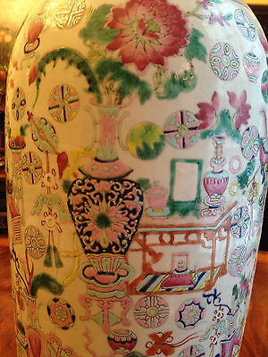A Huge and Rare Chinese Qing Dynasty  Famille Rose Vase #3.