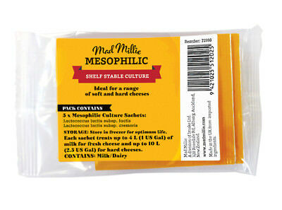Mad Millie Mesophilic Culture Sachets x 5