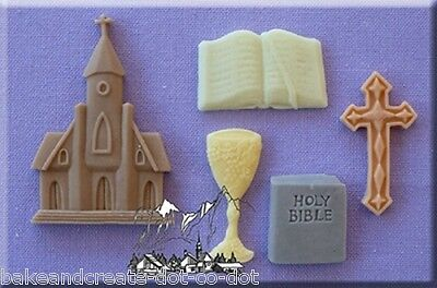 Holy Communion Silicone Cake Decorating Mould by Alphabet Moulds