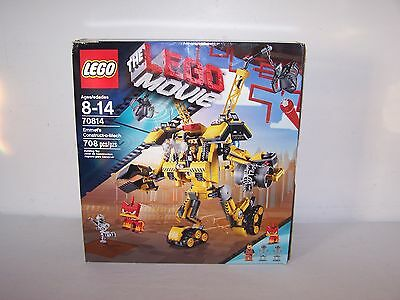 """Lego 70814 """"The Lego Movie"""" Emmet's Construct-o-Mech 708 pcs. Complete!"""