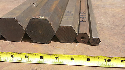 """2-1/4 X 25-1/2""""  Hex Cold Rolled Steel Bar 1018  Will cut to smaller length"""
