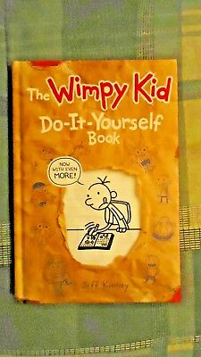 The wimpy kid do it yourself book by jeff kinney 2011 hardcover the wimpy kid do it yourself book by jeff kinney 2011 hardcover solutioingenieria Gallery
