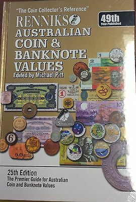 Australian coin and banknote values - renniks 25th edition