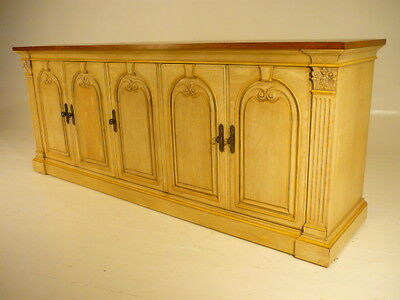 Vintage Heritage Neoclassical Modern Buffet Dresser Grosfeld House Style