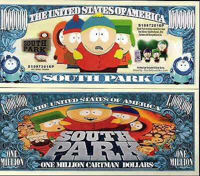 South Park TV Series Million Dollar Novelty Money
