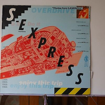 Theme from s express 12 single 1988 mint for Classic acid house mix 1988 to 1990