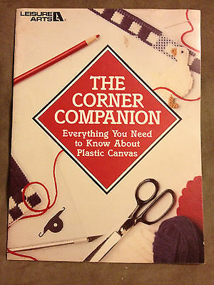 The Corner Companion---Everything You Need to Know About Plastic Canvas Booklet