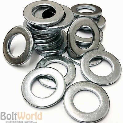 M2 To M36 Metric Washers Standard Form A Thick Bright Zinc Plated Bzp Din125A
