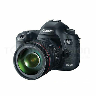 Canon EOS 5D Mark III DSLR Body + EF 24-105mm IS Lens (GBH)