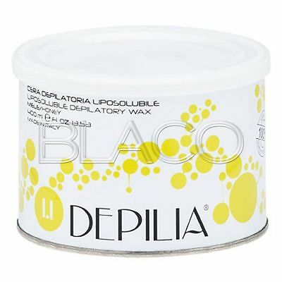 Cera Depilatoria Miele 400Ml Liposolubile Depilia Ceretta Depilazione