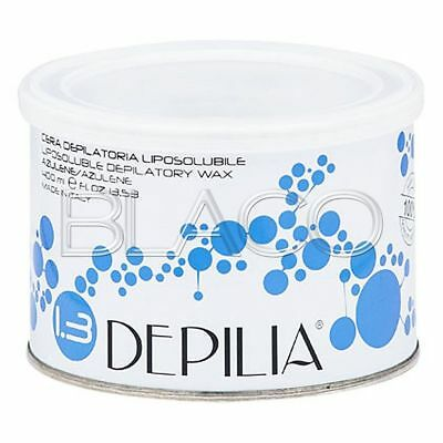 Cera Depilatoria Azulene 400Ml Liposolubile Depilia Ceretta Depilazione