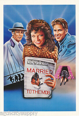 POSTER/ART DRAWING:MOVIE REPRO:  MARRIED TO THE MOB by JAENSCH - #6249 RW21 G