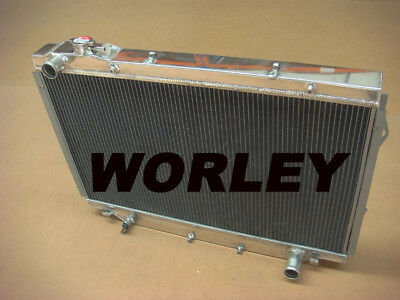 3 core aluminum radiator for 80 Series Landcruiser 1HZ Diesel & 1HDT Turbo 90-98