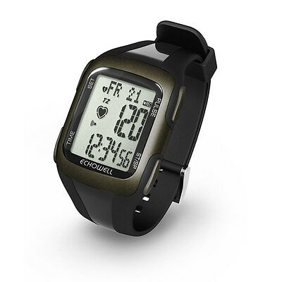 Echowell PH5 Waterproof Heart Rate Monitor Cycle Sports Watch - Black