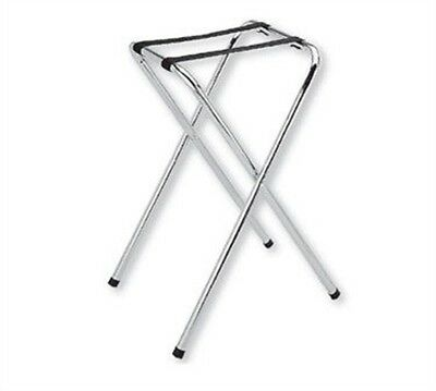 Thunder Group FOLDING TYPE CHROME PLATED TRAY STAND SLTS001 Tray Stand NEW