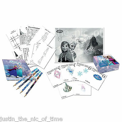 DISNEY FROZEN Princess Girls Birthday Party Bag Filler Favour Activity Pack Kit