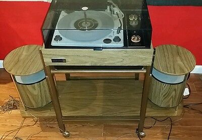 Zenith Stereo Circle of Sound Mid Century Record Player, parts or repair