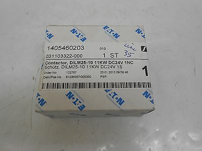 New Eaton Dilm25-10 Dc-Operated Contactor 11Kw/400V