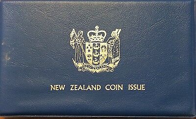 1979 new Zealand 7 coin proof year set