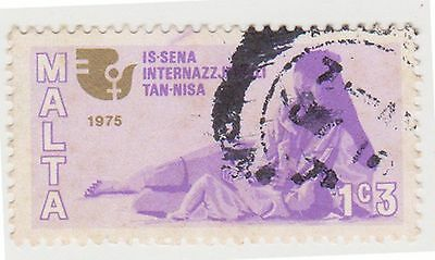 (GBG121) 1975 Malta 1c.3 women's year