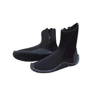 Wetsuit Boots Deluxe with Heel and Toe Cap,  6mm