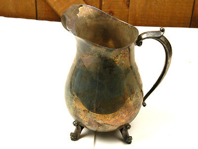 Eales 1779 Silverplated Pitcher With Ice Lip  (W-4-B-5-7)