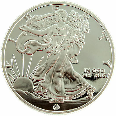 GAM Walking Liberty - American Eagle 1 oz .999 Silver USA Round Bullion Coin