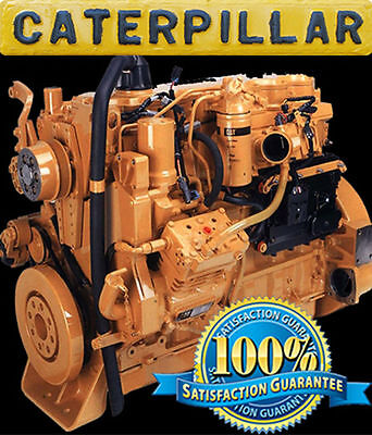 caterpillar b e engine workshop repair service cat caterpillar 3126b 3126e on highway engine repair service maintenance manual