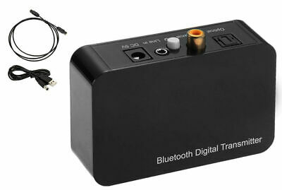 HIFI Wireless Bluetooth 2 in1 Audio Transmitter Receiver 3.5MM/Optical & Coaxial