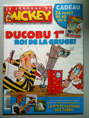 LE JOURNAL DE MICKEY n° 2884 + Hors série /Photo poster Sébastien Chabal