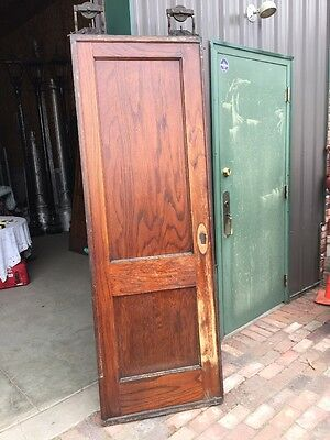 Rd 7 1 Single Oak To Panel Pocket Door