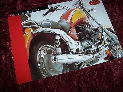 Catalogue /  Brochure MOTO GUZZI California EV 199? //