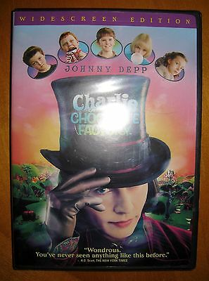 Charlie and the Chocolate Factory (2005, DVD)