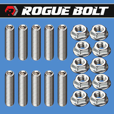 """Big Block Chevy BBC 1/"""" Stainless Steel Socket Header Bolts 396 402 427 NEW"""