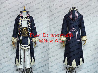 Fire Emblem: Awakening Robin (Male Avatar) Cosplay Costume Jacket Vest Trousers