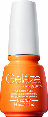 Gelaze by China Glaze Gel Color Polish Sun Worshiper - 14 mL / 0.5 fl oz - 82234
