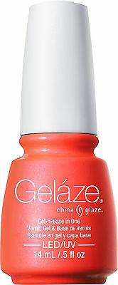 Gelaze by China Glaze Gel Color Polish Surfin' for Boys - 0.5 fl oz - 82235
