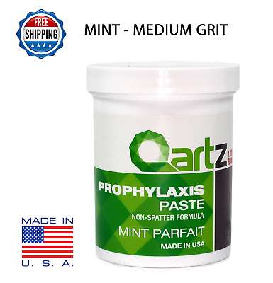 MEDIUM GRIT MINT PARFAIT QARTZ PROPHY PASTE DENTAL PROPHYLAXIS - 340g (12oz) Jar