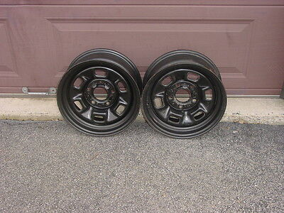 "NOS 71-80 Chevrolet 14 x 6"" Rally Wheels Chevelle Camaro Nova El Camino"