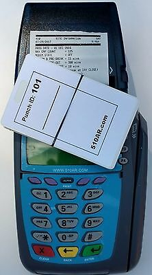 610AR contractor PORTABLE Digital Employee Time Clock, card swipe, payroll