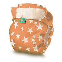 Tots Bots. Pocket Tot Cotton Reusable Nappies, One Size Fits All, Birth To Potty