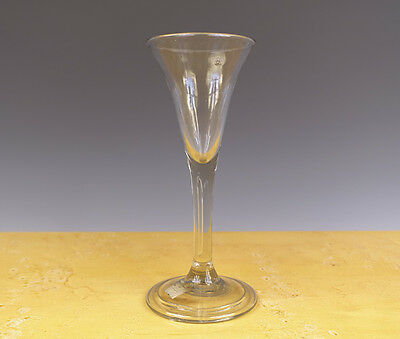 Antique Perfect Dutch/English Wine-Glass 18TH C.