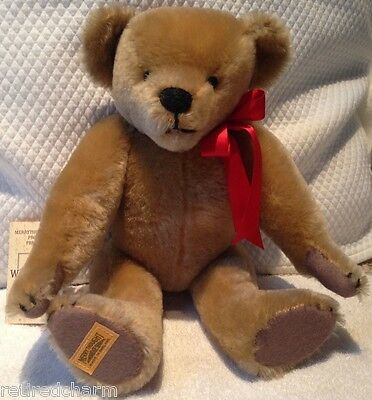 """❤Merrythought- """"the Wiltshire Bear"""" -Tide-Rider Teddy- 15"""" Jointed Lt Ed Mohair❤"""