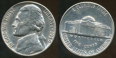 United States, 1959-D 5 Cents, Jefferson Nickel - Uncirculated