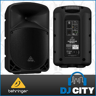 "Behringer Eurolive B110D Active 300-Watt 2-Way 10"" PA Speaker - DJ City Austr..."